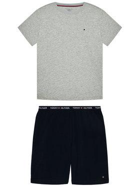 Tommy Hilfiger Tommy Hilfiger Pijama Ss Short Set UB0UB00372 Colorat
