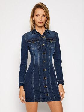 Elisabetta Franchi Elisabetta Franchi Džínové šaty AJ-14S-06E2-V399 Modrá Slim Fit