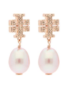 Tory Burch Tory Burch Cercei Kira Pave Pearl Drop Earring 60525 Auriu