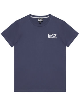 EA7 Emporio Armani EA7 Emporio Armani Marškinėliai 3KBT51 BJ02Z 1554 Tamsiai mėlyna Regular Fit