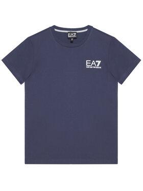 EA7 Emporio Armani EA7 Emporio Armani T-shirt 3KBT51 BJ02Z 1554 Blu scuro Regular Fit