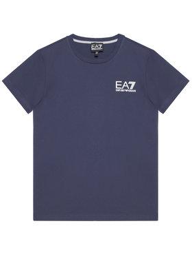 EA7 Emporio Armani EA7 Emporio Armani T-Shirt 3KBT51 BJ02Z 1554 Dunkelblau Regular Fit