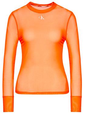 Calvin Klein Jeans Calvin Klein Jeans Bluse J20J216100 Orange Slim Fit