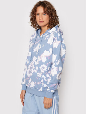 adidas adidas Суитшърт H20441 Син Relaxed Fit