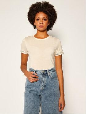 Calvin Klein Calvin Klein T-Shirt Ss Logo Cuff K20K202134 Žlutá Slim Fit