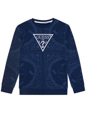 Guess Guess Bluză L1GQ04 KA6R0 Bleumarin Regular Fit