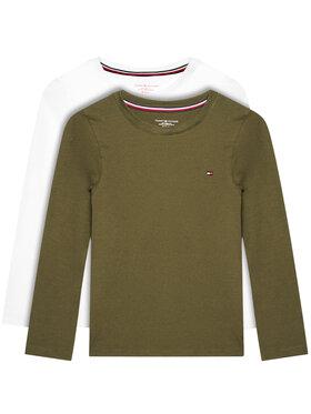 TOMMY HILFIGER TOMMY HILFIGER Σετ 2 μπλουζάκια UB0UB00309 Έγχρωμο Regular Fit