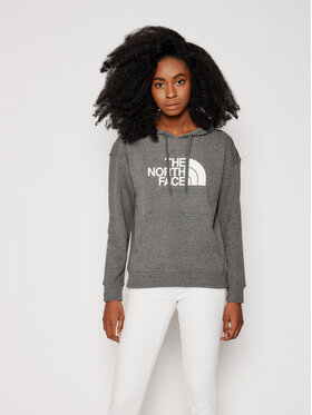 The North Face The North Face Bluza W Light Drew Peak Hoodie NF0A3RZ4DYY1 Szary Regular Fit