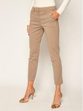 Marella Marella Pantalon en tissu Itala 31360407 Beige Regular Fit