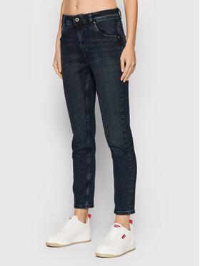 Pepe Jeans Pepe Jeans Jeansy Violet PL201742 Tmavomodrá Mom Fit