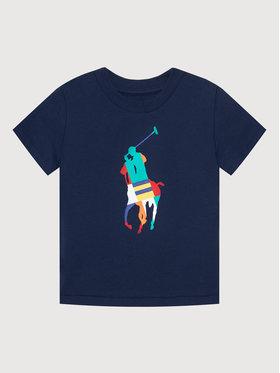 Polo Ralph Lauren Polo Ralph Lauren T-Shirt Ss Cn 322844817002 Granatowy Regular Fit