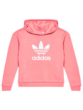 adidas adidas Bluză Trefoil GN8258 Roz Regular Fit