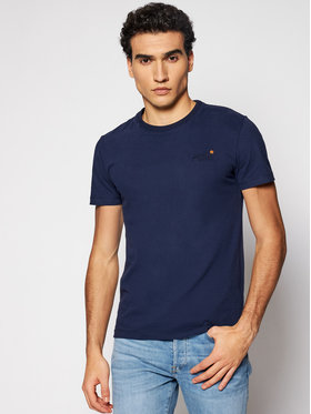 Superdry Superdry T-shirt Ol Vintage Emb Tee Ns M1010206A Bleu marine Regular Fit