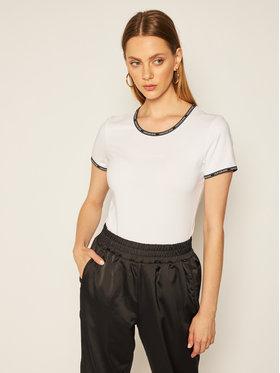 Calvin Klein Jeans Calvin Klein Jeans T-Shirt Logo Trim J20J214227 Bílá Regular Fit