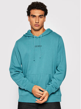 Guess Guess Sweatshirt Roy M0GQ03 R44Q7 Bleu Regular Fit