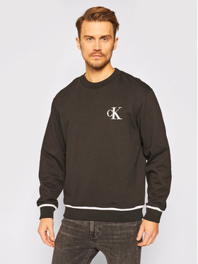 Calvin Klein Jeans Calvin Klein Jeans Mikina J30J315597 Černá Relaxed Fit