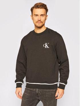 Calvin Klein Jeans Calvin Klein Jeans Mikina J30J315597 Čierna Relaxed Fit