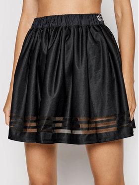 adidas adidas Plisovaná sukně GN3260 Černá Regular Fit