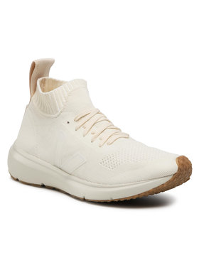 Veja Veja Sneakers Runner Style Mid V x Rick Owens OT102454B Beige