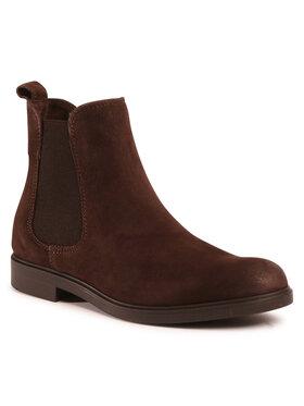 Marc O'Polo Marc O'Polo Členková obuv s elastickým prvkom 007 16045002 305 Hnedá