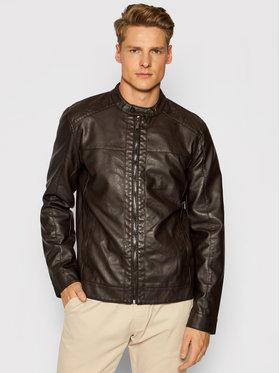 Only & Sons Only & Sons Veste en simili cuir Mike 22012339 Marron Regular Fit