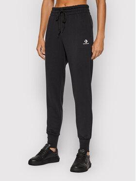 Converse Converse Teplákové kalhoty Star Chevron 10020164-A01 Černá Regular Fit