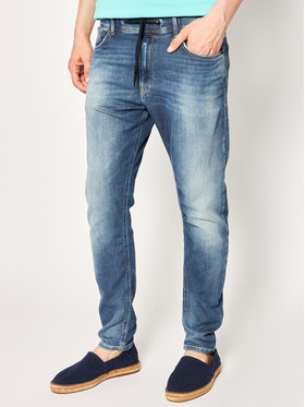 Pepe Jeans Pepe Jeans Jeansy Johnson PM204385 Granatowy Relaxed Fit
