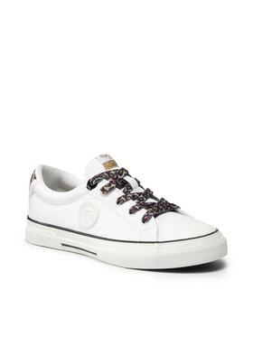 Pepe Jeans Pepe Jeans Sneakers aus Stoff Kenton Patty PLS31234 Weiß