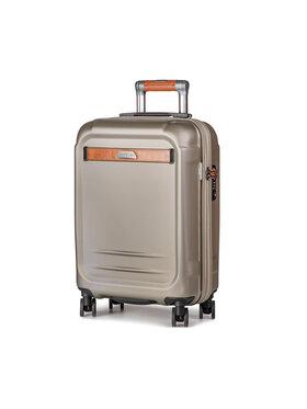 Puccini Puccini Kis kemény borítású bőrönd Stockholm PC020C 6 Arany
