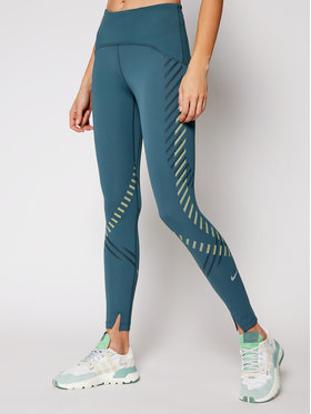 NIKE NIKE Colanți Speed CU3288 Albastru Tight Fit