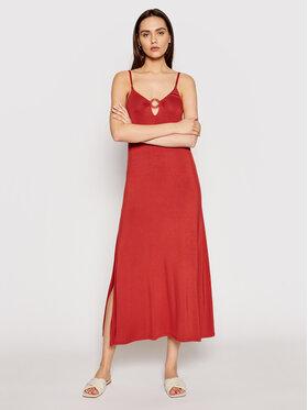 Emporio Armani Emporio Armani Лятна рокля 262483 1P315 10055 Оранжев Regular Fit