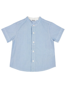 Primigi Primigi Cămașă Camicia Mm Cotone Riga T.Filo 45251001 Albastru Regular Fit