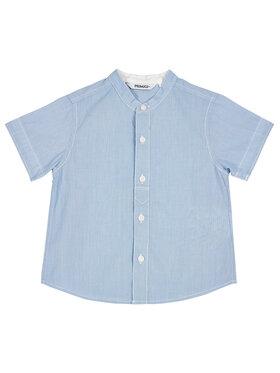 Primigi Primigi Ing Camicia Mm Cotone Riga T.Filo 45251001 Kék Regular Fit