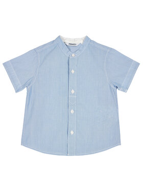 Primigi Primigi Koszula Camicia Mm Cotone Riga T.Filo 45251001 Niebieski Regular Fit