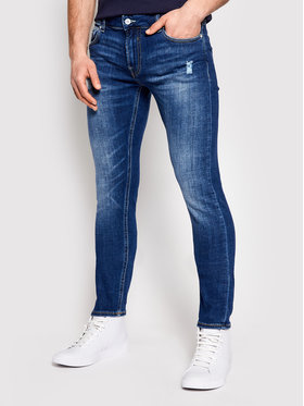 Guess Guess Jeans Miami M1GAN1 D4CH1 Blu Slim Fit