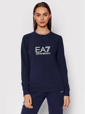 EA7 Emporio Armani EA7 Emporio Armani Sweatshirt 8NTM35 TJCQZ 1554 Dunkelblau Regular Fit