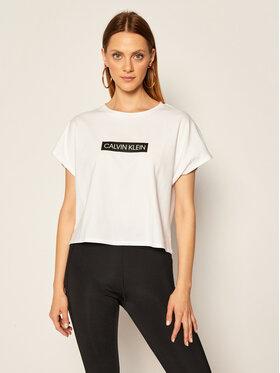 Calvin Klein Performance Calvin Klein Performance T-Shirt 00GWT0K126 Biały Regular Fit