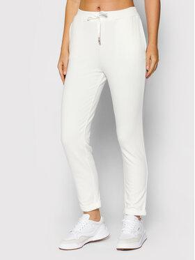 Liu Jo Sport Liu Jo Sport Текстилни панталони TF1119 F0576 Бял Slim Fit