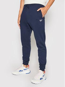 Reebok Reebok Spodnie dresowe RI Fleece GS1602 Granatowy Regular Fit