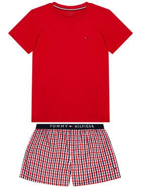 Tommy Hilfiger Tommy Hilfiger Pijama Woven Print UB0UB00306 Roșu Regular Fit