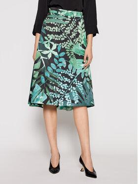 MAX&Co. MAX&Co. Trapézová sukňa Freddura 81010521 Zelená Regular Fit