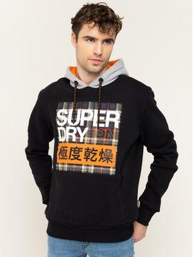 Superdry Superdry Bluză Crafted M2000101A Negru Regular Fit