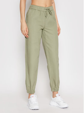 Converse Converse Joggers Go To Woven 10021753-A02 Verde Regular Fit