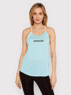 Calvin Klein Performance Calvin Klein Performance Top Mesk Tank 00GWS1K198 Blu Regular Fit