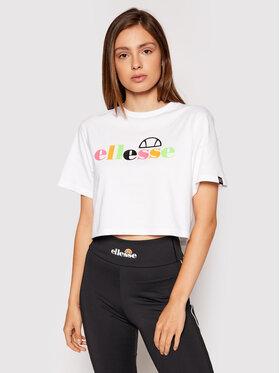 Ellesse Ellesse T-Shirt Cordela SGF10514 Biały Loose Fit