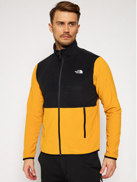 The North Face The North Face Fleecejacke Glacier NF0A4AJCAUV1 Gelb Regular Fit