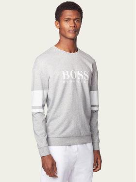 Boss Boss Bluza Authentic 50431103 Szary Regular Fit