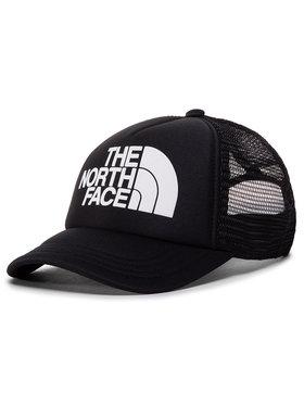 The North Face The North Face Kepurė su snapeliu Youth Logo Trucker NF0A3SIIKY41 Juoda