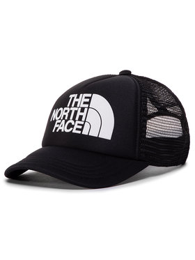 The North Face The North Face Шапка с козирка Youth Logo Trucker NF0A3SIIKY41 Черен