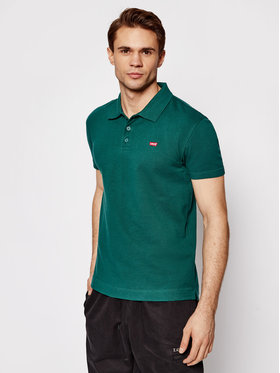 Levi's® Levi's® Polo Verde Zielony Standard Fit